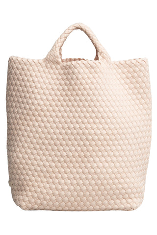 St Barths Shopper Tote Bag in Ecru