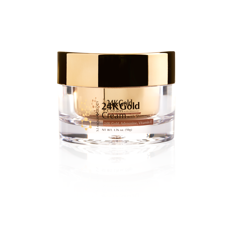 24k Gold Cream with Shimmer by Masqueology