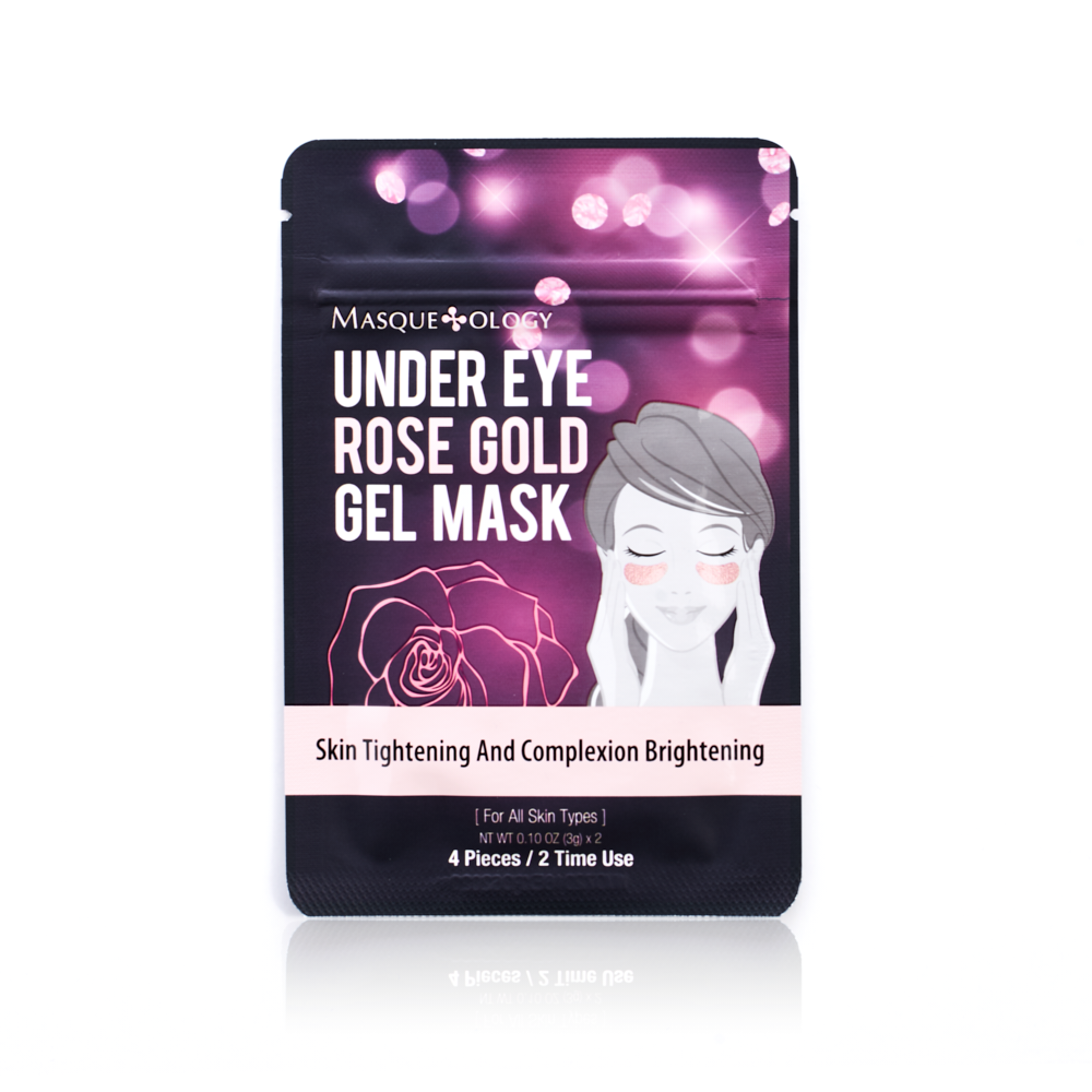 Under Eye Rose Gold Gel Mask by Masqueology