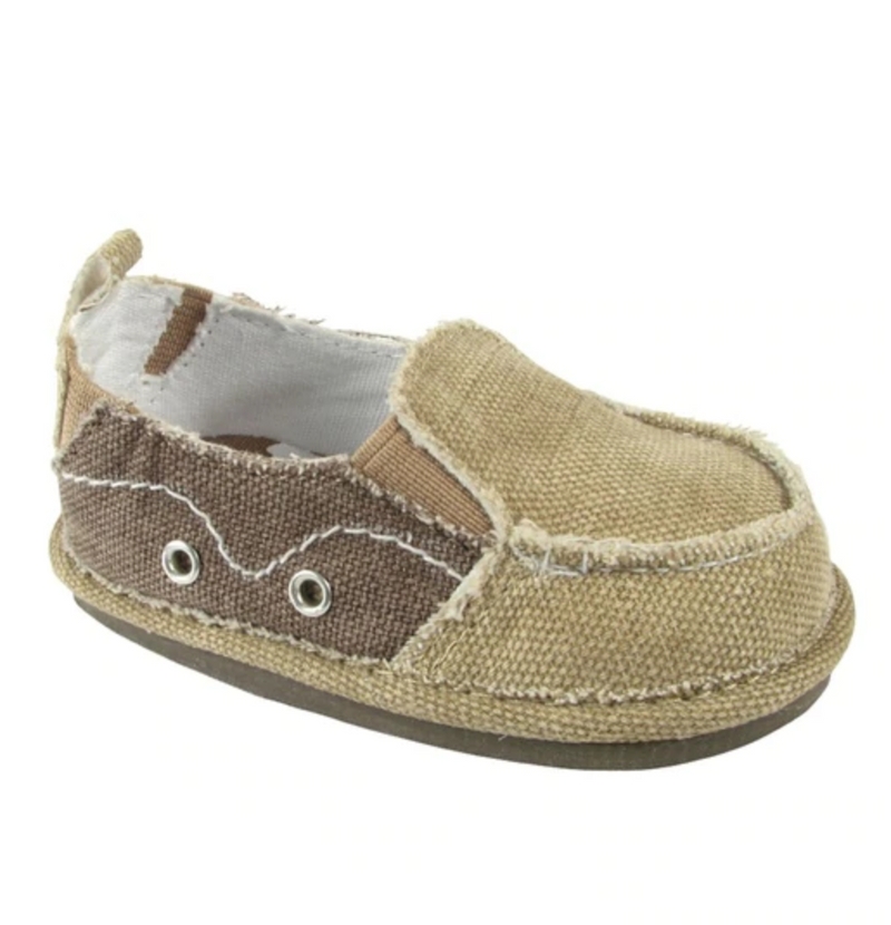 Baby Deer Canvas Slip-on Walking Shoe