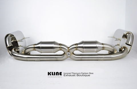 KLINE Innovations Exhaust - Porsche 996 Carrera (2000 - 2006)