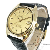 Omega Constellation Automatic Chronometer C Shape Gold Micron Vintage Watch