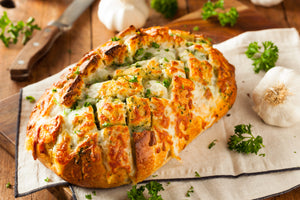 Five Cheese Pull Apart Bread