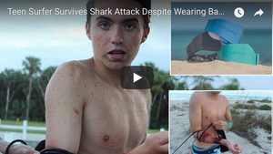Shark Attacks Florida Surfer Wearing Shark Deterrent
