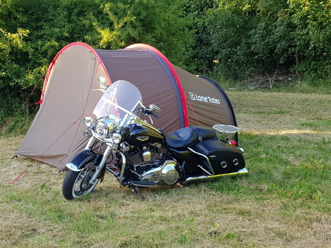 MotoTent- Adventure Motorcycle Tent in Denmark