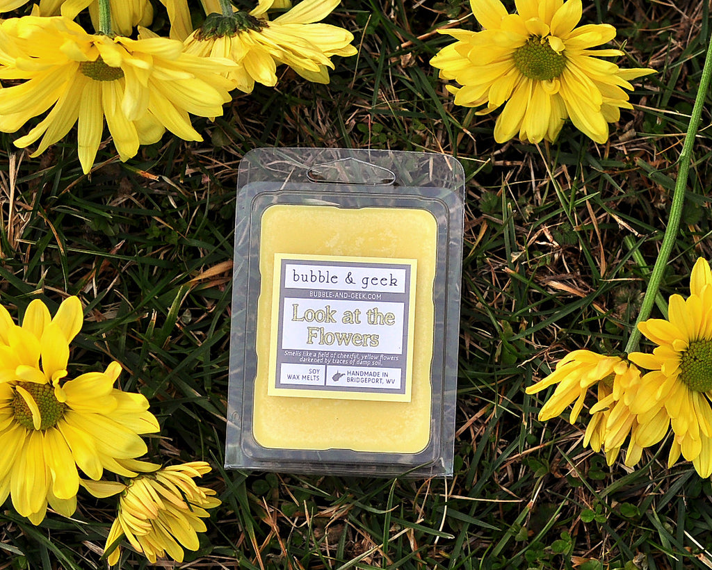 Look at the Flowers Scented Soy Wax Melts