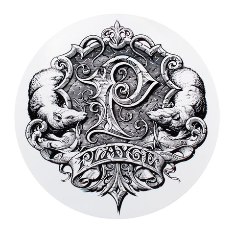 Horkey Playge Logo Big Ass Sticker on White
