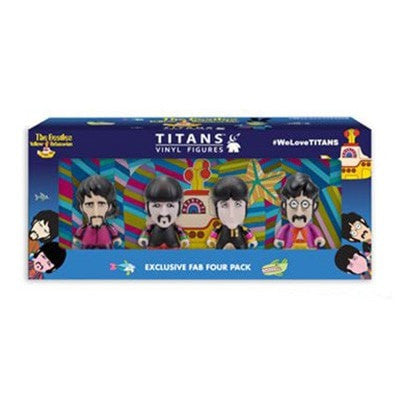 "The Beatles Yellow Submarine Sgt. Pepper's Disguise 3"" Vinyl Figure - 4 Pack"