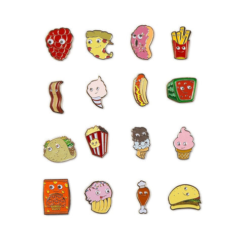 Yummy World Enamel Pin Series - Single Blind Box