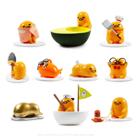 Gudetama Eggstra Lazy Blind Box Mini Figure Series