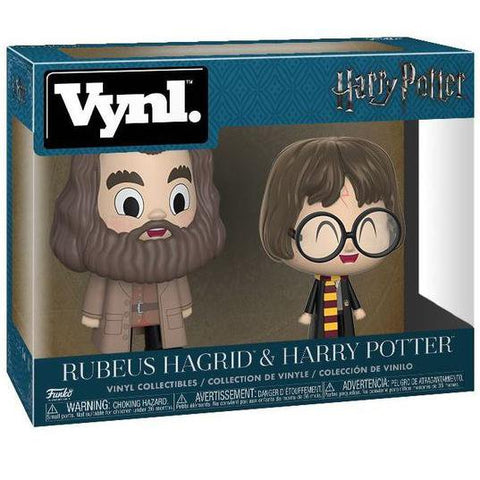 "Funko VYNL Hagrid and Harry ""Harry Potter"" 2-Pack"