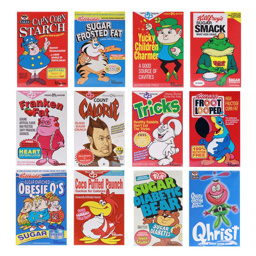 Cereal Killer Minis by Ron English (Your Choice)