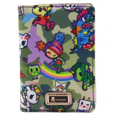 Camo Kawaii Passport Wallet by Tokidoki