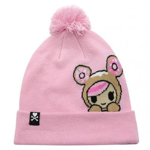 Donutella Peeking Pom Beanie by Tokidoki