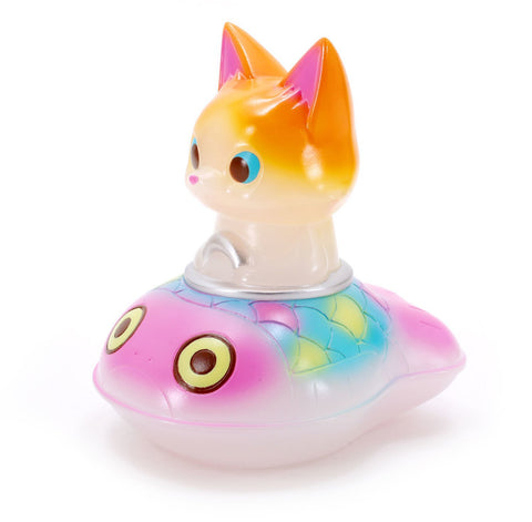 Wonder Vehicle: Cat with Fish Boat by Konatsu - Fancy Version