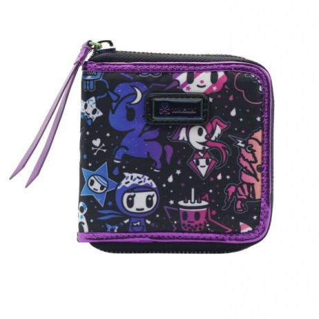 Galactic Dreams Small Zip Around Wallet by Tokidoki