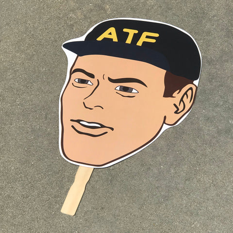 ATF BIG HEAD CUTOUT - Tactical Outfitters