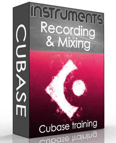 Cubase 9.5 Recording & Mixing for Beginners