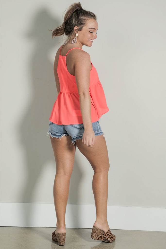 Tropic like it Hot - Neon Top - Ty Alexander's