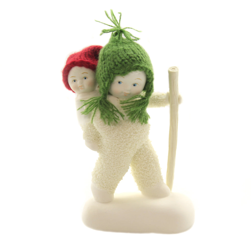 Dept 56 Snowbabies POLAR TREK Porcelain Hiking Staff Baby 6003495