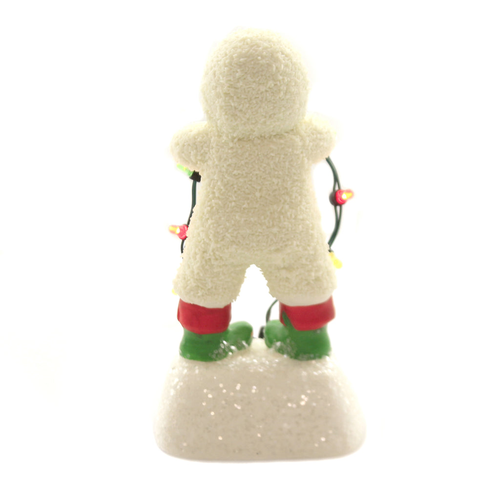 Dept 56 Snowbabies PLUG IT IN, BABY Porcelain Christmas Light Strand 6003513