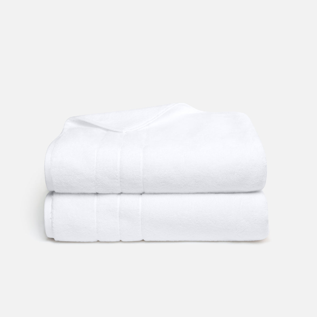 Super-Plush Bath Sheet Bundle / White