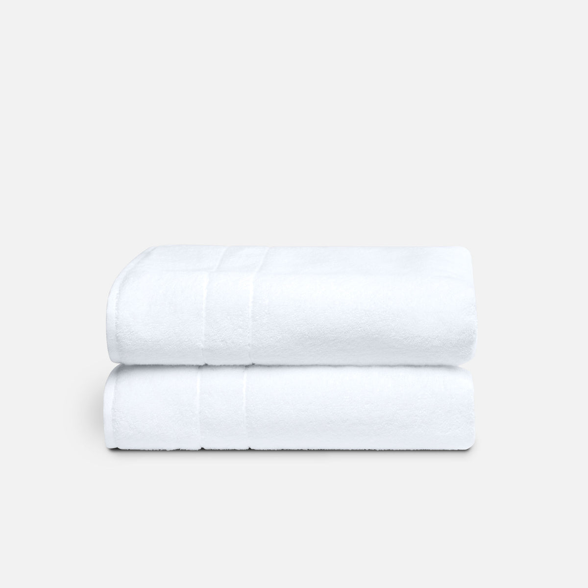 Super-Plush Bath Towel Bundle / White