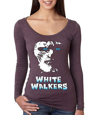 White Walkers Game Of Thrones Women's Long Sleeve Shirt - ALLNTRENDSHOP - 2