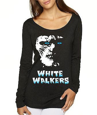 White Walkers Game Of Thrones Women's Long Sleeve Shirt - ALLNTRENDSHOP - 3
