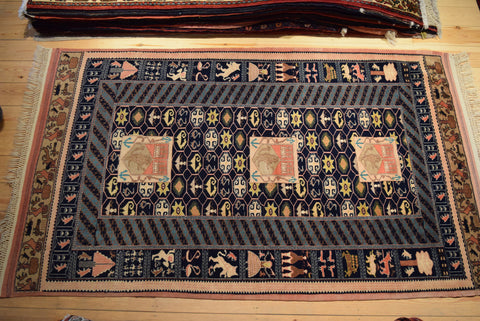 Quchan Rug 200x125 H202 - Persian Tribal Rugs