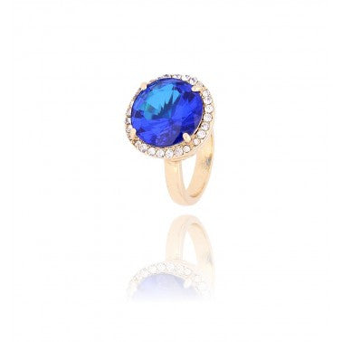 Blue and Gold Ring PGR0008