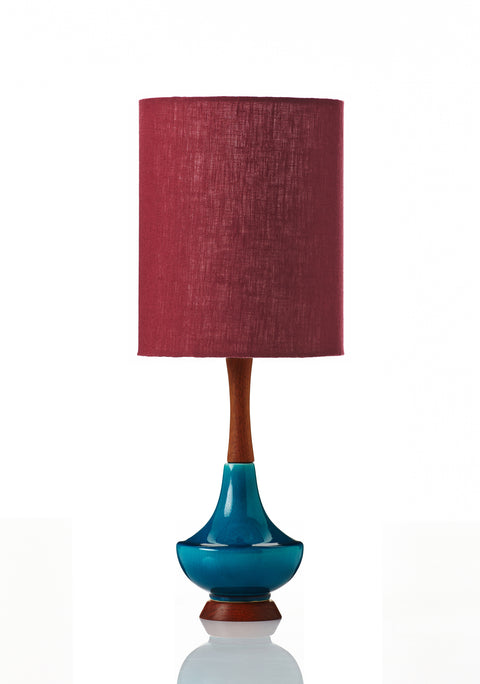 Electra Lamp Small - Deep Claret