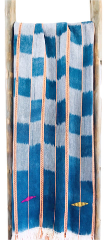 Throw - Ivory Coast Indigo Textile