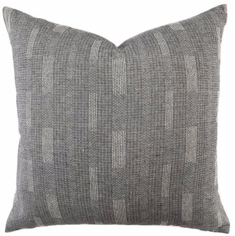 Pillow - Grey Sashiko Pillow