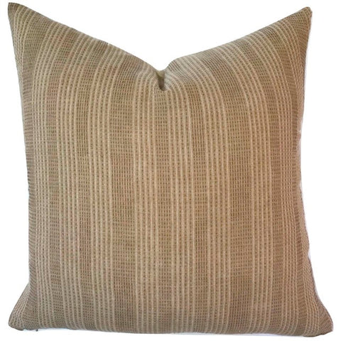Pillow - Tan Sashiko Pillow
