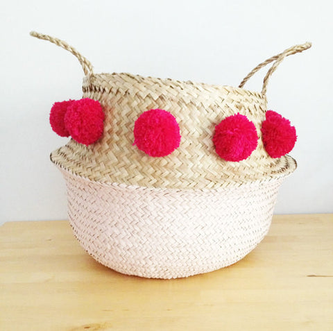 Belly Basket Pom Pom - Medium