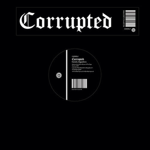 Corrupted ‎– Felicific Algorithim LP - Grindpromotion Records