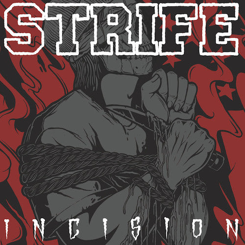 Strife ‎– Incision LP (Red Vinyl)