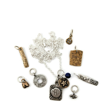 Build your own necklace - amulets and charms