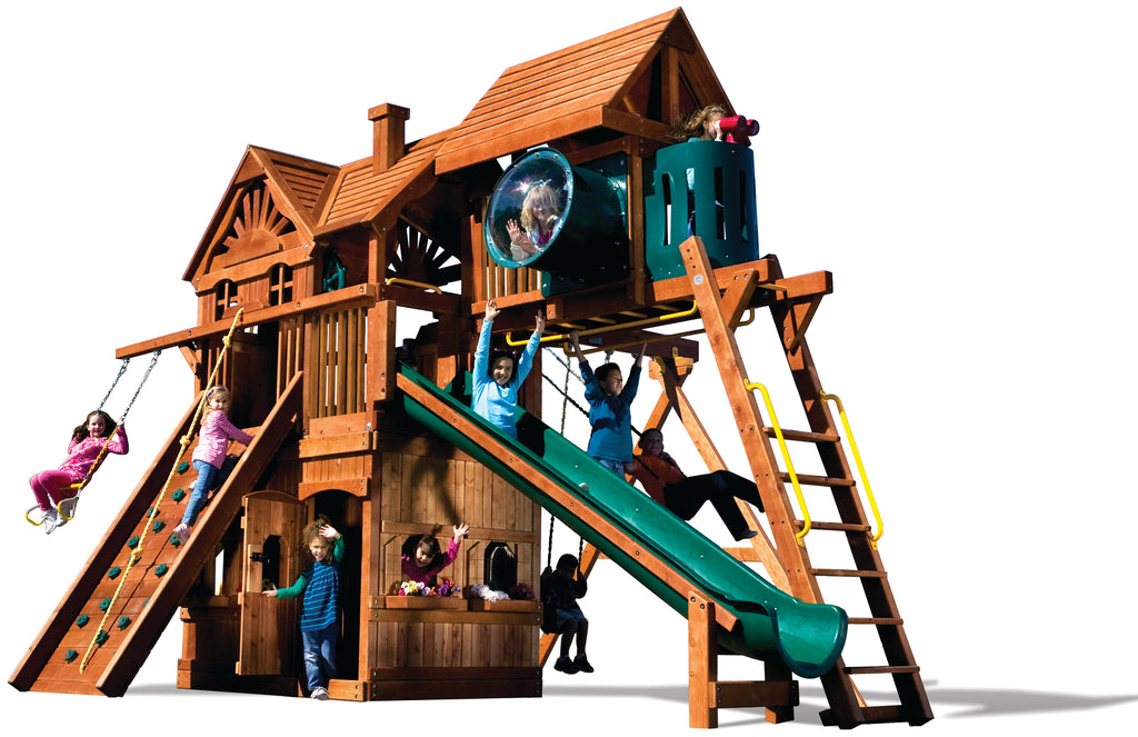 Monster Clubhouse Pkg IV Huckelberry Hideout (75K)