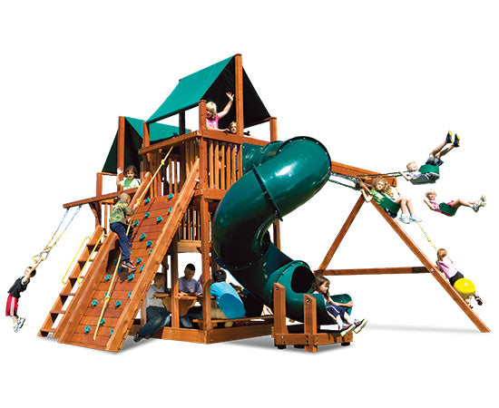 King Kong Clubhouse Pkg II with Spiral Slide (87E)