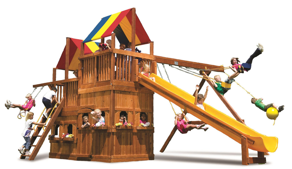King Kong Clubhouse Pkg II with Lower-Level Playhouse (86C)