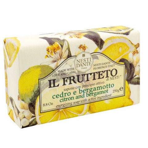 NESTI DANTE Il Frutteto - Citron and Bergamot Bar Soap - MerryBath
