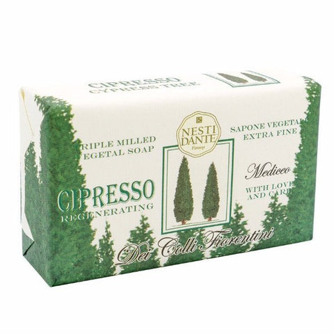 NESTI DANTE Cypress Tree Bar Soap (Cipresso) - MerryBath.com