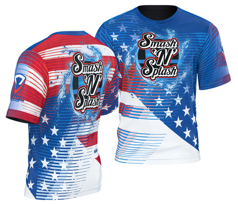 Smash & Splash USA Tee