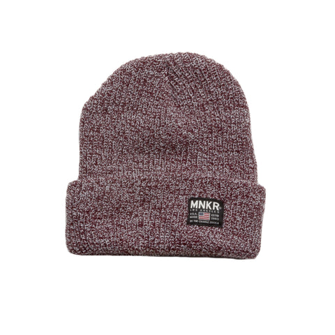 Burgundy Beanie - House of Legends Threads  - 1