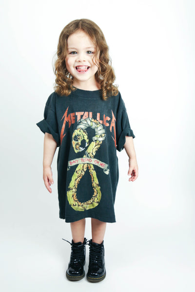 Elevated Youth Reworked '92 Metallica 'Don't Tread On Me' Youth XS *1 of 1*