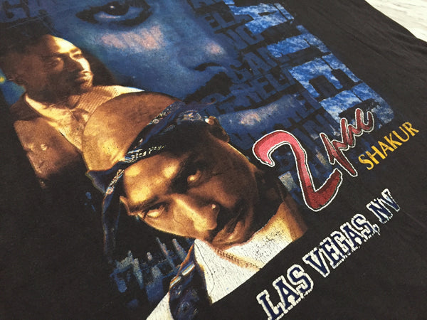 2Pac 90s 'Gang Related' Bootleg Tribute XL/XXL *Rare*
