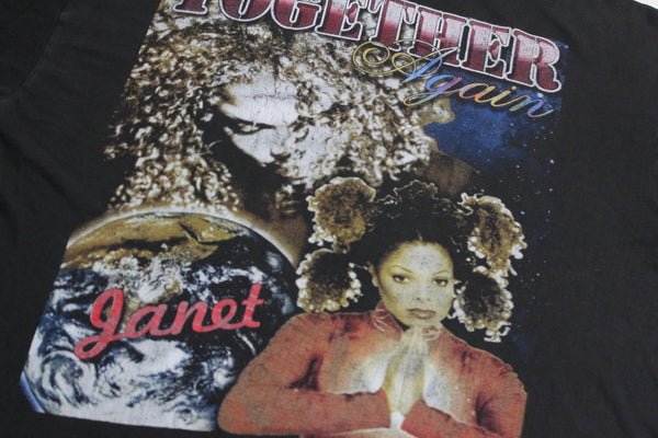 Janet Jackson '98 'The Velvet Rope/ Together Again' XL *Heavy Fade*
