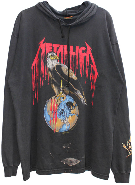 Metallica '93 'Nowhere Else To Roam' XL Hooded Long Sleeve